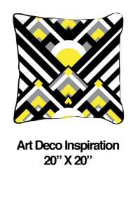 Art Deco Inspiration Yellow